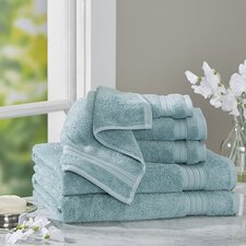 Clarke Cotton 6 Piece Towel Set