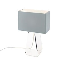 Tube Top Table Lamp with Rectangular Shade