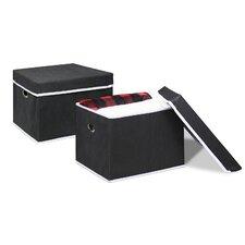 Non-Woven Fabric Heavy-Duty Storage Organizer (Set of 2)