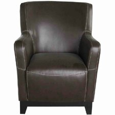 Jensen Accent Chair in Faux Leather