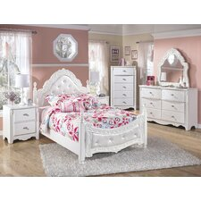Exquisite Four Poster Customizable Bedroom Set