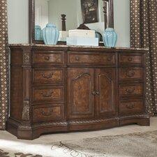 Ledelle 9 Drawer Combo Dresser