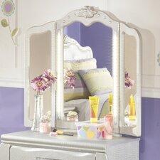 Zarollina Crowned Top Dresser Mirror