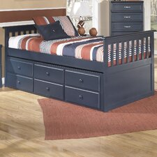 Leo Twin Slat Customizable Bedroom Set
