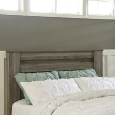 Orange Wood Headboard