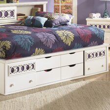 Zayley Panel Customizable Bedroom Set