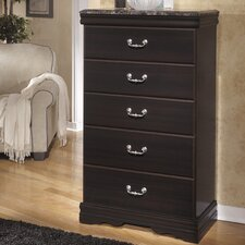 Esmarelda 5 Drawer Chest