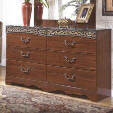 Fairbrooks Estate 6 Drawer Dresser