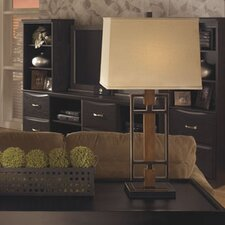 "Omaris 32"" H Table Lamp with Rectangular Shade (Set of 2)"