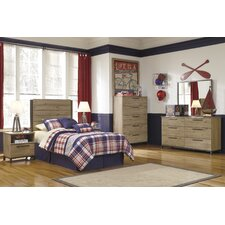 Dexifield Panel Customizable Bedroom Set
