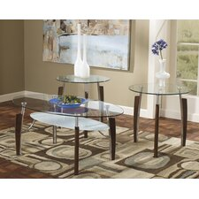 Tryst 3 Piece Coffee Table Set