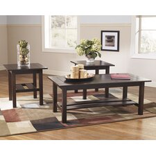 Mikel 3 Piece Coffee Table Set