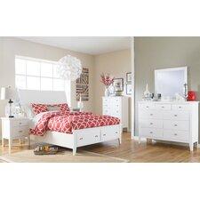 Langlor Sleigh Customizable Bedroom Set