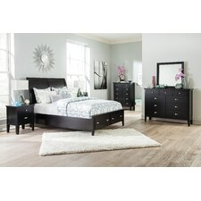 Braflin Sleigh Customizable Bedroom Set