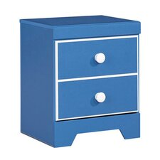 Bronilly 2 Drawer Nightstand
