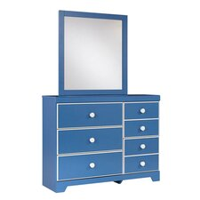 Bronilly 5 Drawer Dresser with Mirror
