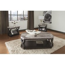 Radilyn 3 Piece Coffee Table Set