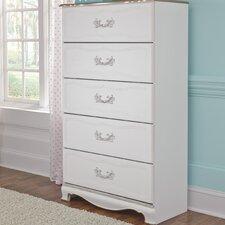 Korabella 5 Drawer Dresser