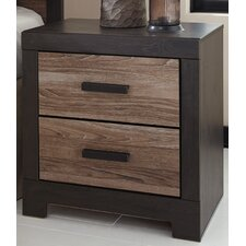 Harlinton 2 Drawer Nightstand