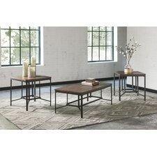 Newelk 3 Piece Coffee Table Set