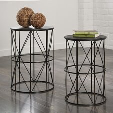 Marxim 2 Piece End Table Set