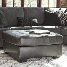 Owensbe Leather Ottoman