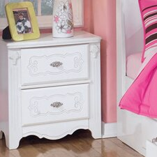 Lydia 2 Drawer Nightstand