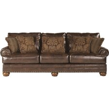 Leighton Leather Sofa