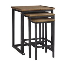 Traxmore 3 Piece Nesting Table