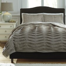 Voltos 3 Piece Duvet Cover Set