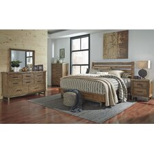 Dondie Queen Platform Customizable Bedroom Set