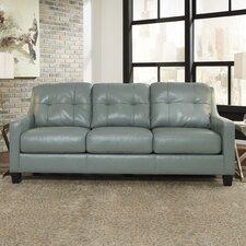 O'Kean Leather Sofa