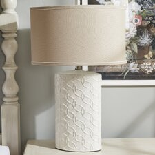 """Shelvia 30"""" H Table Lamp with Drum Shade"""