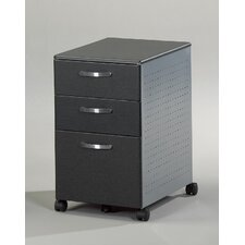 Eastwinds 3-Drawer Mobile File Pedestal