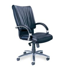 High-Back Leather President Office Chair