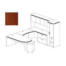 Aberdeen 4-Piece Series U-Shape Desk Office Suite