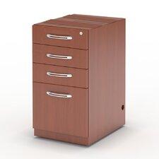 "Aberdeen 27.5"" H x 15.25"" W Desk File Pedestal"