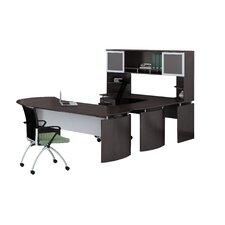 Medina Series 3-Piece U-Shape Desk Office Suite