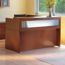 Aberdeen Series 3-Piece U-Shape Reception Desk Suite