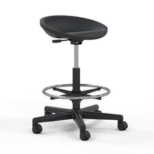 Technical Height Adjustable Swivel Stool