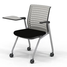 Thesis Training Chair with Arms and Table (Set of 2)