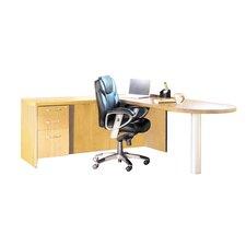 Aberdeen Series L Shaped Executive Desk