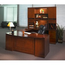 Sorrento Series U-Shape Executive Desk with Hutch