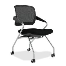 Valoré Training Series Mid-Back Mesh Task Chair (Set of 2)