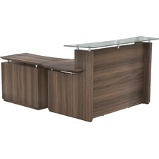 Sterling L Shape Reception Desk