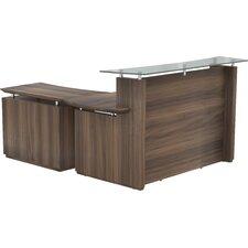 Sterling L Shape Reception Desk
