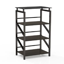 "Soho Glass 38"" Bookcase"