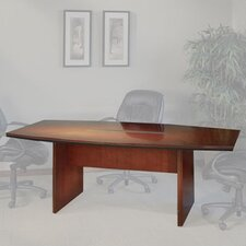 Corsica Series Boat Shaped Conference Table