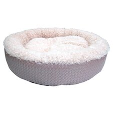 Faux Leather Round Dog Bed (Set of 6)