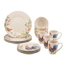 Paula Deen 16 Piece Dinnerware Set